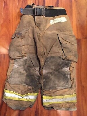 Firefighter Bunker Turnout Gear Pants Globe 36x26 G Extreme Halloween Costume