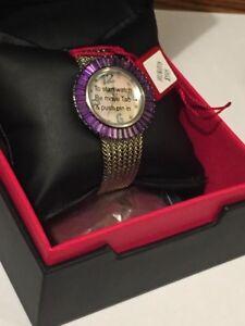 Brand new BURGI watch