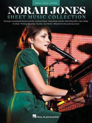 Norah Jones Sheet Music Collection Piano Vocal Guitar SongBook NEW 000354464