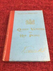 Queen Victoria And Her People Rare Diamond Jubilee Hardback Book 1897