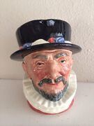 Royal Doulton Toby Mugs Beefeater