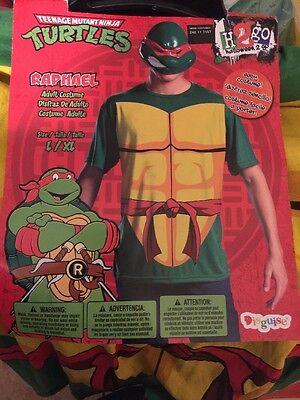 TMNT Raphael Costume Adult L/XL - Adult Tmnt Costume