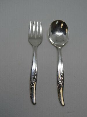 1936 MEADOWBROOK aka HEATHER 1930s Art Deco Antique silverware Vintage 1881 Rogers Vintage silverplate flatware Silver Serving Spoon
