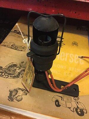 OLD WOOD Motor boat ENGINE ROOM LIGHT DECK LAMP WORK RAT ROD HOT SCTA HOOD HOODED LQQK