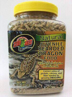 Zoo Med Natural Juvenile Bearded Dragon Food 10 OZ
