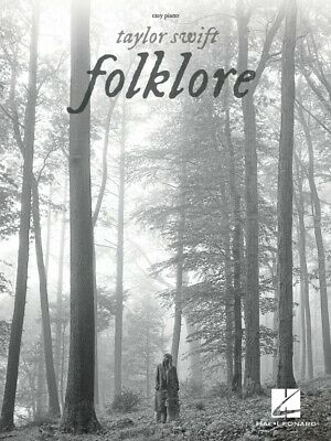 Taylor Swift Folklore Sheet Music Easy Piano Book NEW 000356888