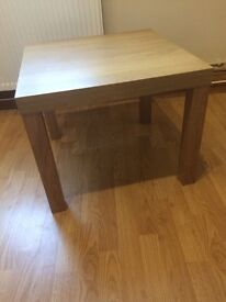 Ikea LACK coffee side table - oak effect finish - good condition