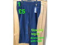 Various Plus Size Jeans 22-26