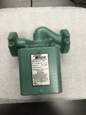 Taco 006-zf7-1ifc Priority Zoning Circulator Pump 140 Hp. New