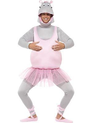 Ballerina Hippo Kostüm, Schaum Bonded, eine Größe, Party Animals Kostüm (Hippo Kostüm)