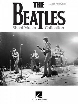 The Beatles Sheet Music Collection Piano Vocal Guitar SongBook NEW 000236171