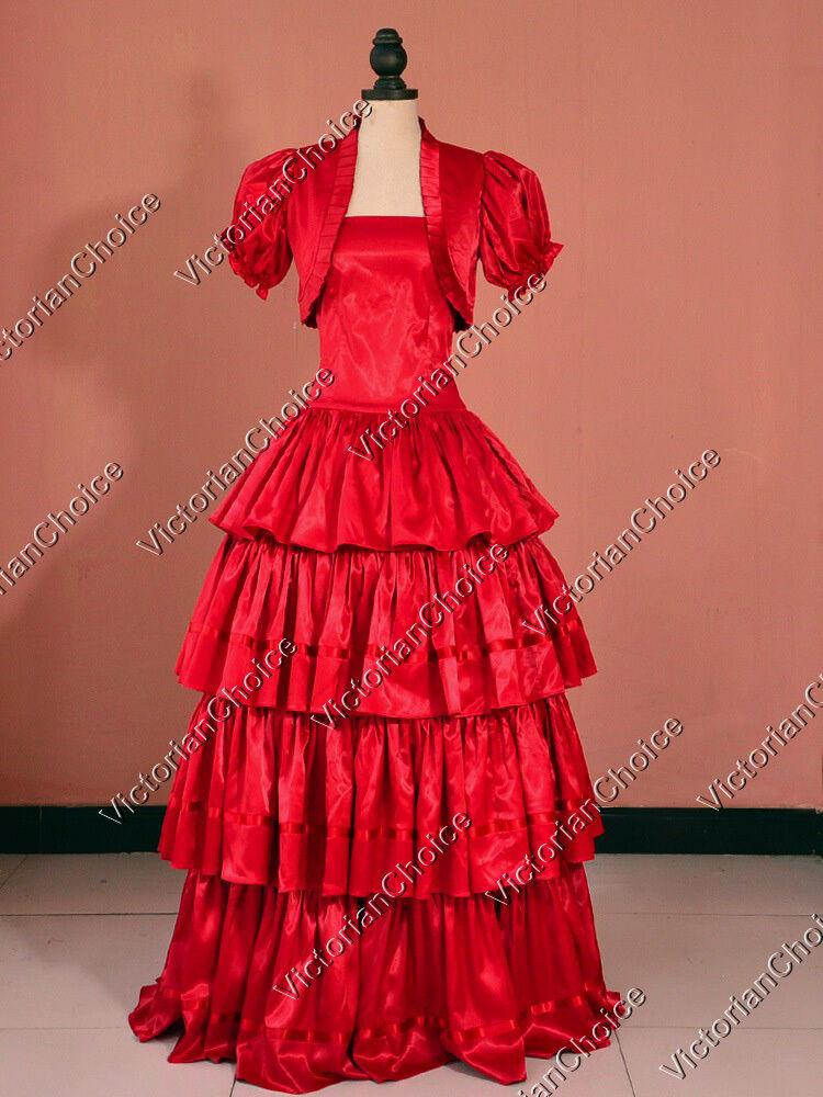 Southern Belle Victorian Princess Christmas Gumdrop Dress...