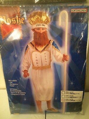 Jewish Rabbi Moshe Child Costume - Size Large  - NEW! - Jewish Costume