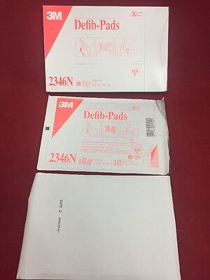 (NEW BOX OF 10 3M Defib-Pads 2346N 9