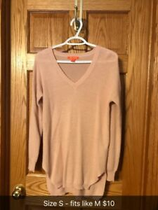 Sweaters and sweater dresses size M or fit like M