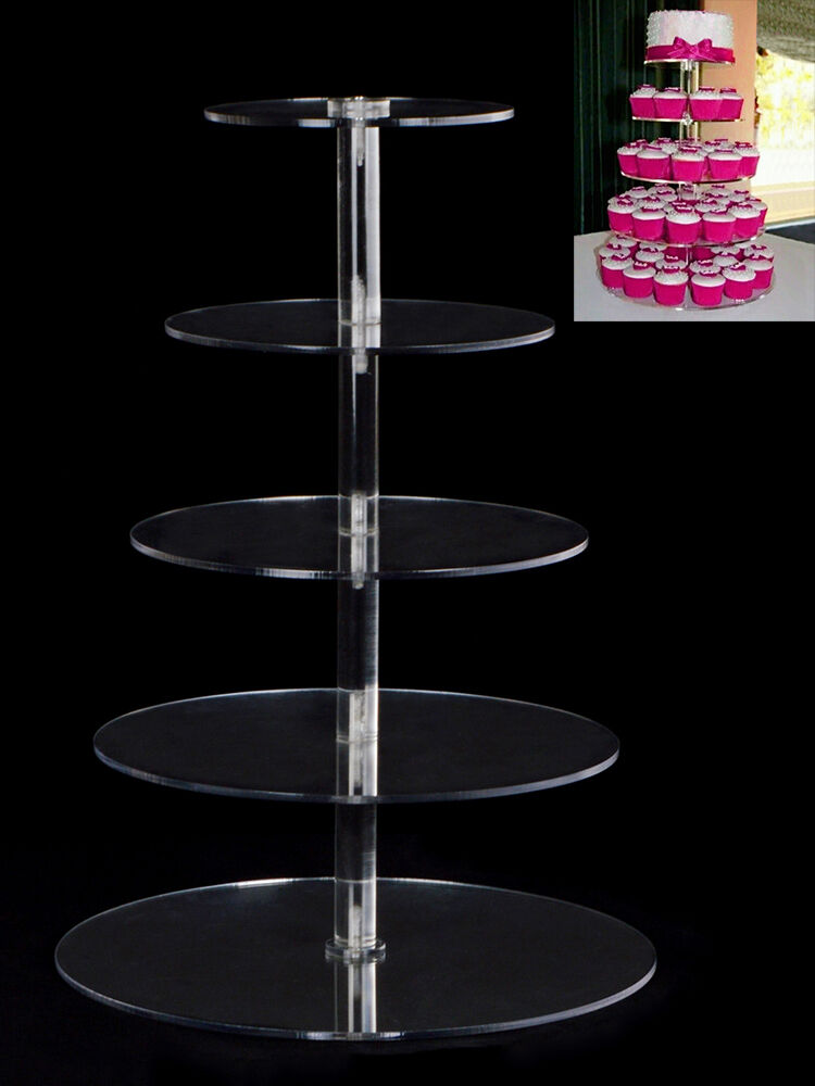 Clear Acrylic Cake Stand Box