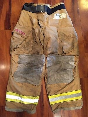 Firefighter Bunker Turnout Gear Pants Globe 36X28 G Extreme Halloween Costume