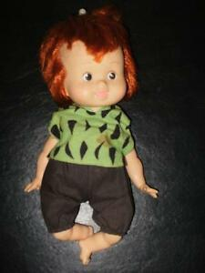 "PEBBLES DOLL -15"" 1980 HANNA-BARBERA"