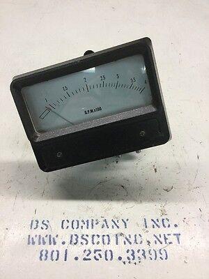 Dieterich Standard Efw-f1 Eagle Eye Flow Meter 90-400 Gpm