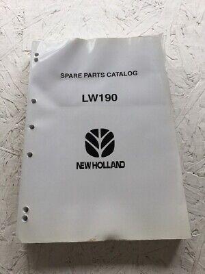 New Holland Lw190 Wheel Loader Parts Catalog Manual