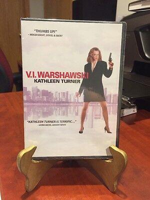 VI Warshawski (DVD, 1991) Kathleen Turner, Charles Durning/Resealed/LN!