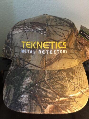 Teknetics Metal Detectors Camo Baseball Cap One Size Fits All with Strap Hat