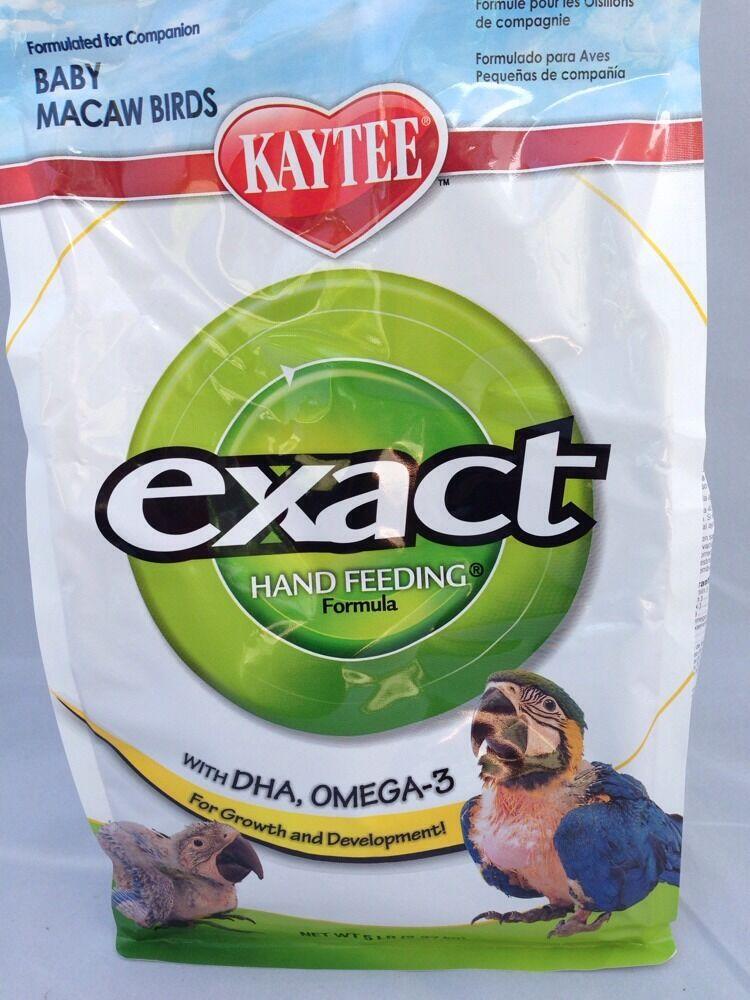 Kaytee Exact Hand Feeding For Baby Macaws, 5-Lb Bag