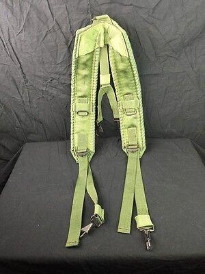 Euc Individual Equipment Y Suspenders Alice Lc 2 Y Harness Us Military Od Green