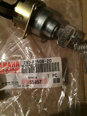 Used, YAMAHA YB100 DX100 1977 1978 1979 Main Ignition Drum With Key N.O.S for sale  Shipping to Canada