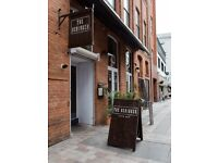 Front of house staff required for city centre cafe / restaurant