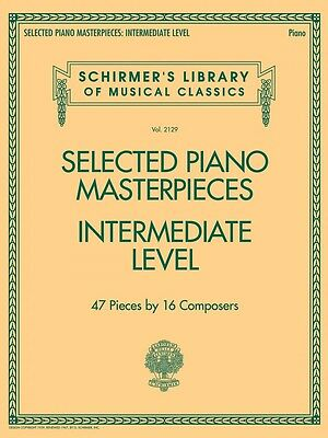 Selected Piano Music - Selected Piano Masterpieces Intermediate Level Sheet Music Schirmer's 050600823