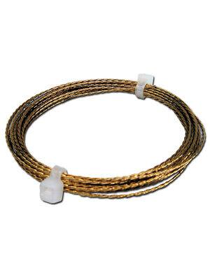 1 x 2 m Ring STC Schneidedraht 0,8 mm gedreht Austrenndraht für Scheibenkleber