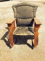 ANTIQUE ROCKING CHAIR reduced