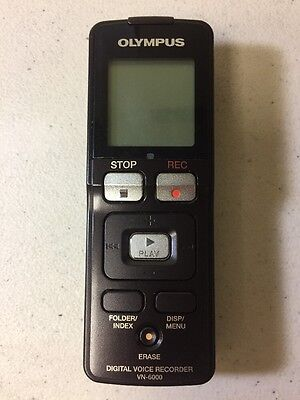 Olympus VN-6000 (1024 MB, 604 Hours) Handheld Digital Voice Recorder