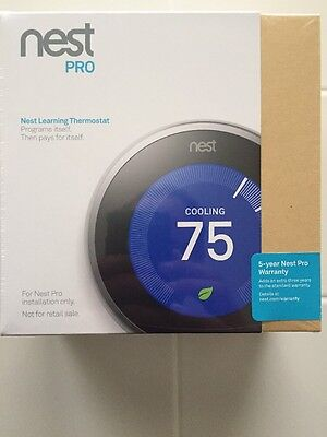 Nest pro learning thermostat professional version t3008us 3rd Generation