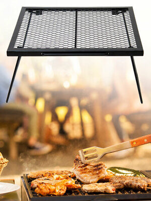 Folding Campfire Grill Heavy Duty Portable Camping Grill 304 Stainless Steel UK