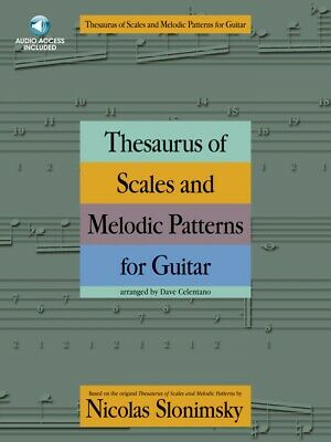 Thesaurus of Scales and Melodic Patterns for Guitar - Book and Audio 014037720