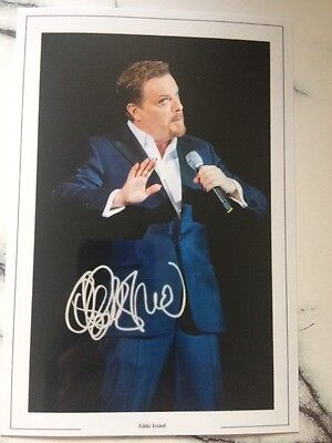 Eddie Izzard Signed Printed Photo 6x4