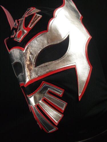 Adult Lucha Libre Halloween Luchador Costume Lycra Cape /& Dos caras mask set