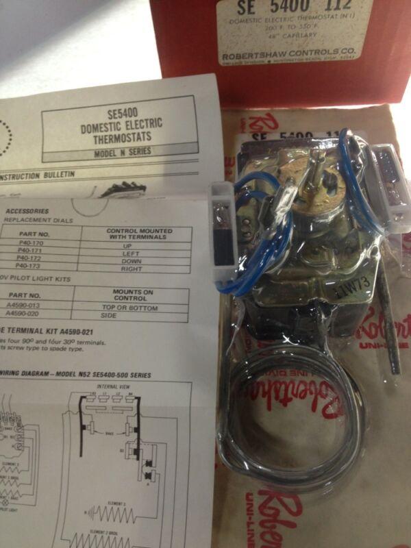 Robertshaw Uni-Line - SE 5400 112 Domestic Electric Thermostat (N 1)