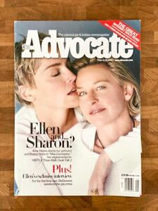 COLLECTABLES: Advocate Magazine (March 14, 2000) – GOOD CONDITION!