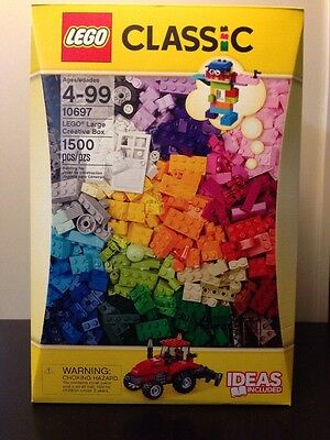 Lego Classic Set 10697 Creative Large Building Box 1500 Bricks Pieces NEW Sealed