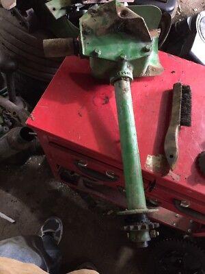 John Deere 24t Baler Knotter Drive Gear Box And Kicker E18950e