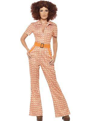 Authentische 70er Jahre Chic Kostüm, EU 44-46, 1970 Disco Kostüm #DE