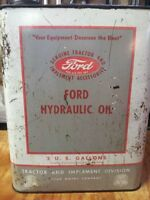 RARE 1950s Ford Tractor Hydraulic Oil Can