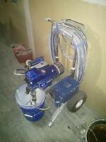 Graco FinishPro 395 Paint Sprayer, airless air assisted like new