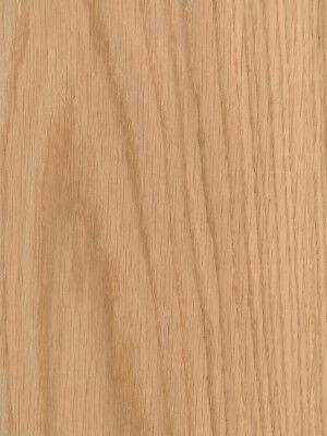 Red Oak Wood Veneer Plain Sliced Paper Backer Backing 4 X 8 48 X 96
