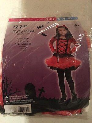 Halloween Costume Girls Tutu Devil Small - Devil Tutu Halloween Costume
