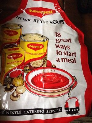 Official Maggi Nestle Catering Service Apron