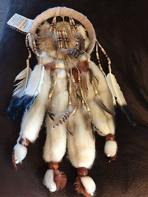 Moon Raven Indian Mandella Handmade Native American